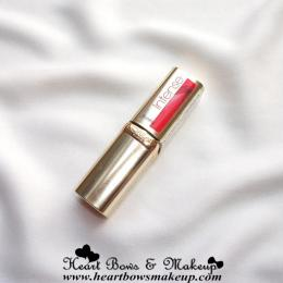 L'Oreal Paris Color Riche Intense Matte Lipstick Pink Passion Review & Swatches- The Best Pinky Coral Lipstick!