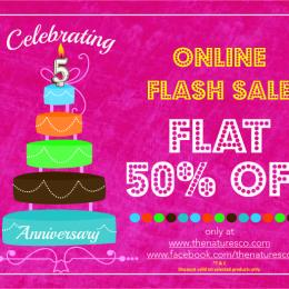Grab'em all as The Nature's Co. goes live with an Online FLAT 50% Off Sale