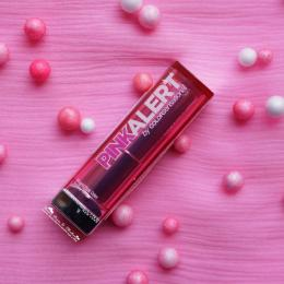 Maybelline Pink Alert Lipstick POW 2 Review- The Best Hot Pink Lipstick Available In India