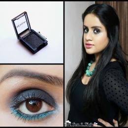 Revlon Colorstay ShadowLinks Onyx Review, Swatches & Eyemakeup