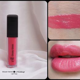 elf Glossy Gloss Wild Watermelon Review & Swatches
