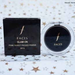 Faces Canada Glam On Prime Perfect Pressed Powder 01 Ivory Review & Swatches