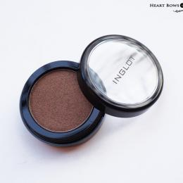 Inglot Eyeshadow 422 Pearl Review, Swatches & Eyemakeup