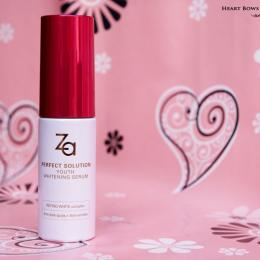 ZA Perfect Solution Youth Whitening Serum Review, Price & Buy India