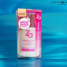 ZA Perfect Fit Liquid Foundation Review, Swatches & Price India