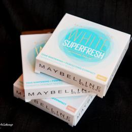 Maybelline White Super Fresh Compact Powder Review, Swatches & Price India