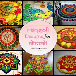 Top Rangoli Designs For Diwali 2015