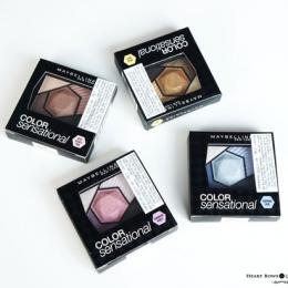 All Maybelline Color Sensational Diamond Eyeshadow Review, Swatches, Price & Buy Online India