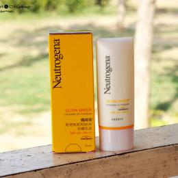 Neutrogena Ultra Sheer Complete UV Moisture SPF 50+ Review