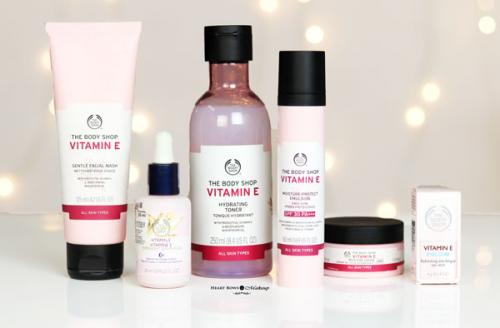 The Body Shop Vitamin E Skincare Range Review + Giveaway (5 Winners)
