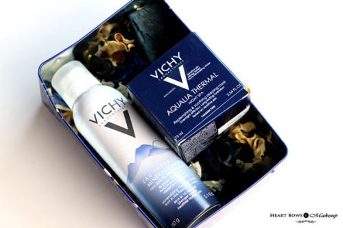 Vichy Eau Thermale Mineralisante & Aqualia Thermal Night Spa Review, Price & Buy India