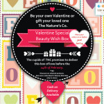 The Nature's Co. Feburary Valentine Special Beauty Wish Box