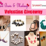 Heart Bows & Makeup & Sammydress present International Valentine's Day Giveaway!