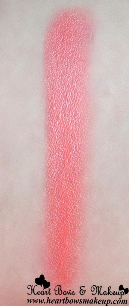 inglot lipstick refill 02 swatch on indian light skin