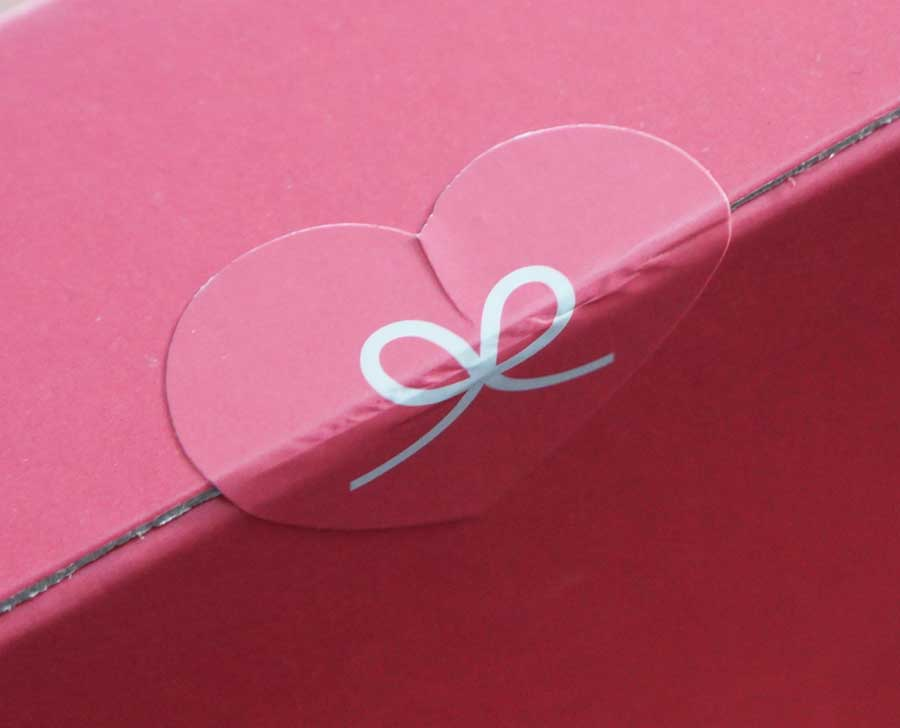 Prettysecrets Heart Stickers