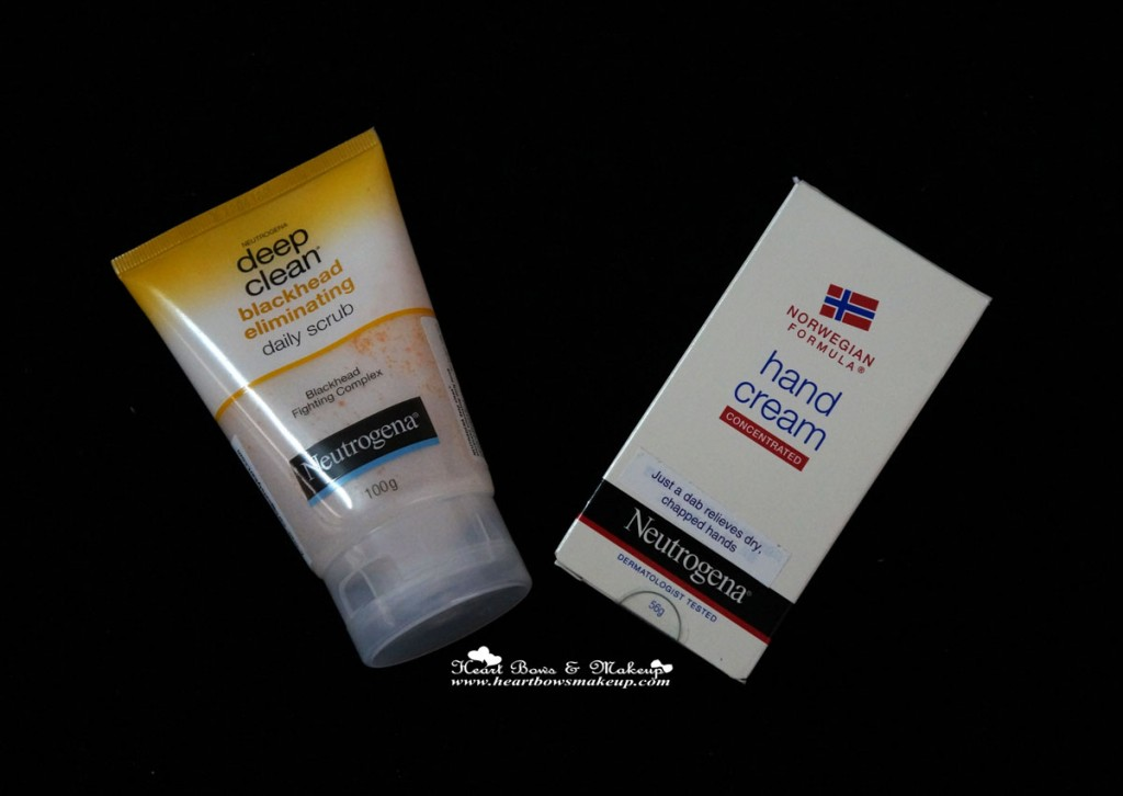 Neutrogena Blackhead Eliminating Scrub & Hand Cream review buy online in india