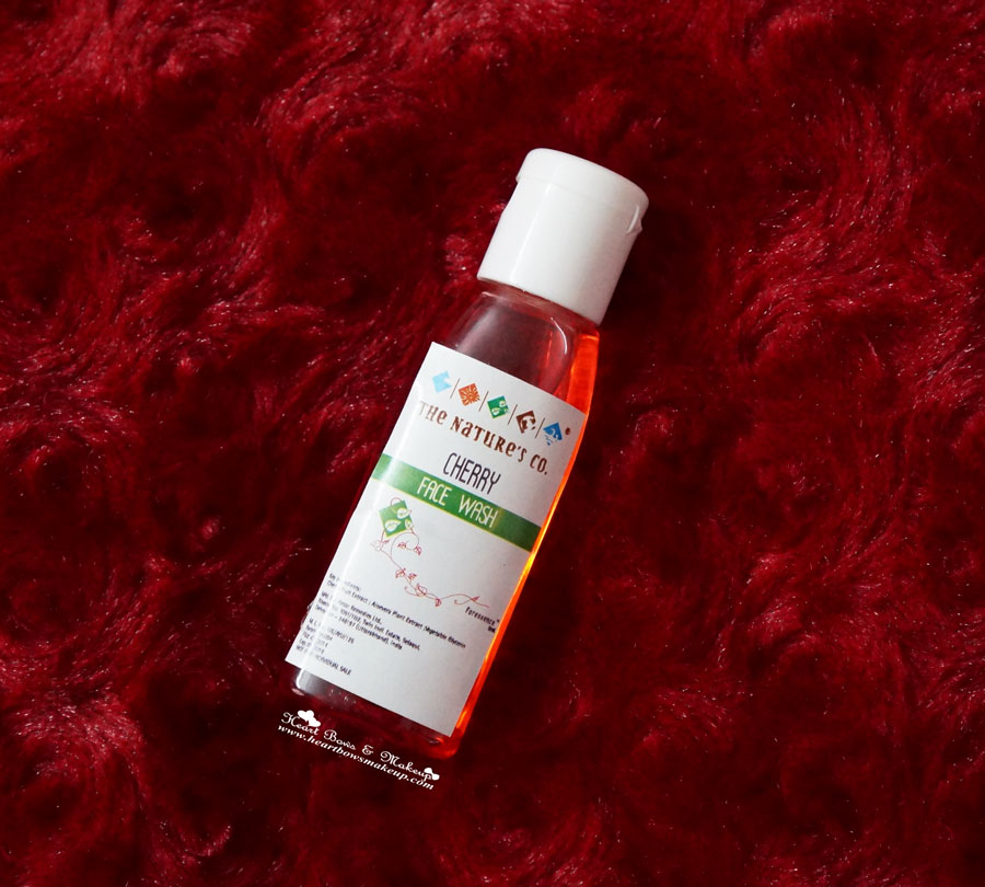 The Nature's Co. Cherry Face Wash review price india