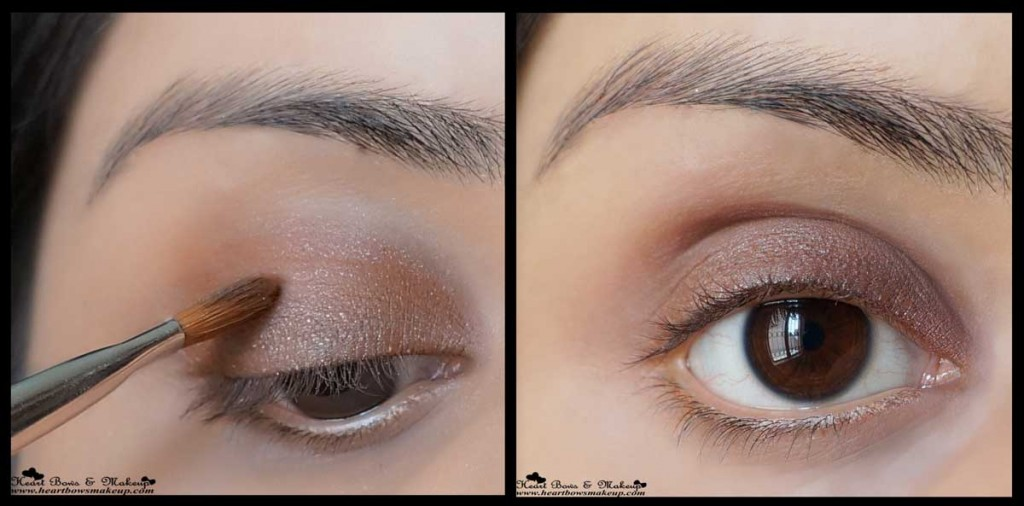 brown smokey eyemakeup tutorial valentine's day eyemakeup tutorial