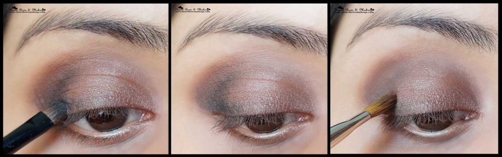 soft smokey brown eyemakeup tutorial valentine's day eyemakeup tutorial