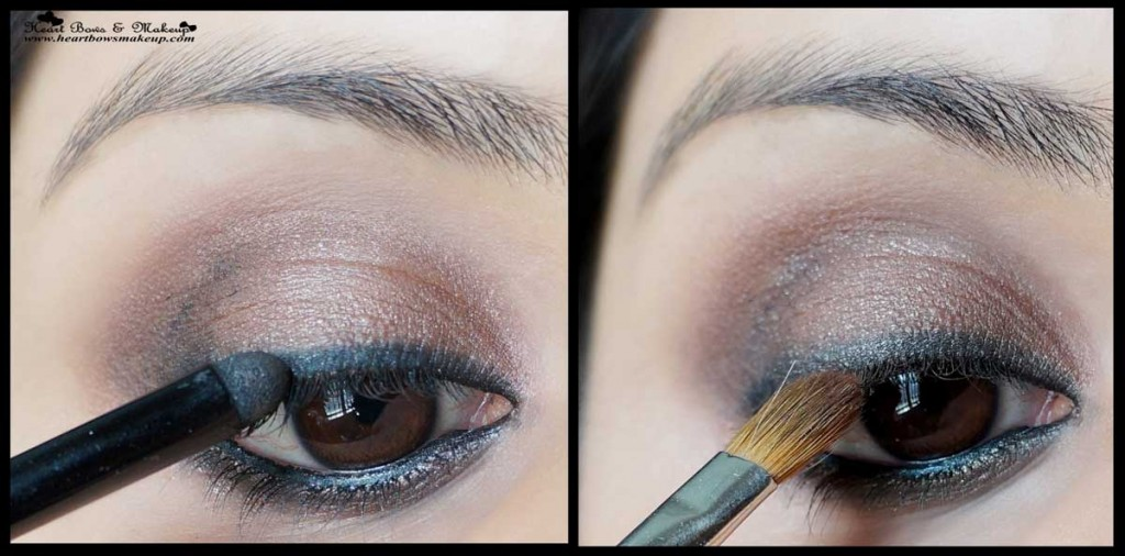 smokey brown eyemakeup tutorial indian eyemakeup