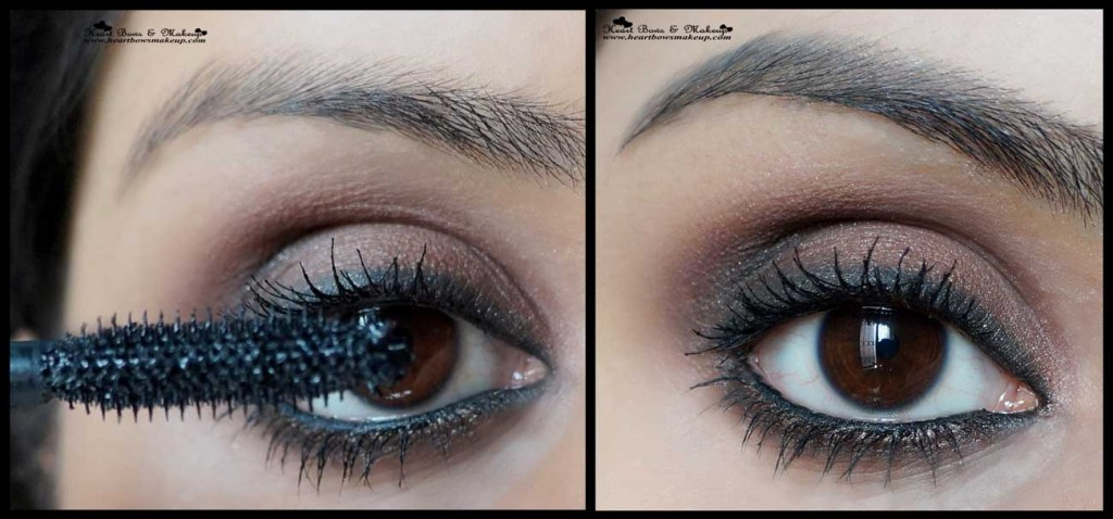 Valentine's Day Eyemakeup Tutorial brown smokey eyemakeup tutorial