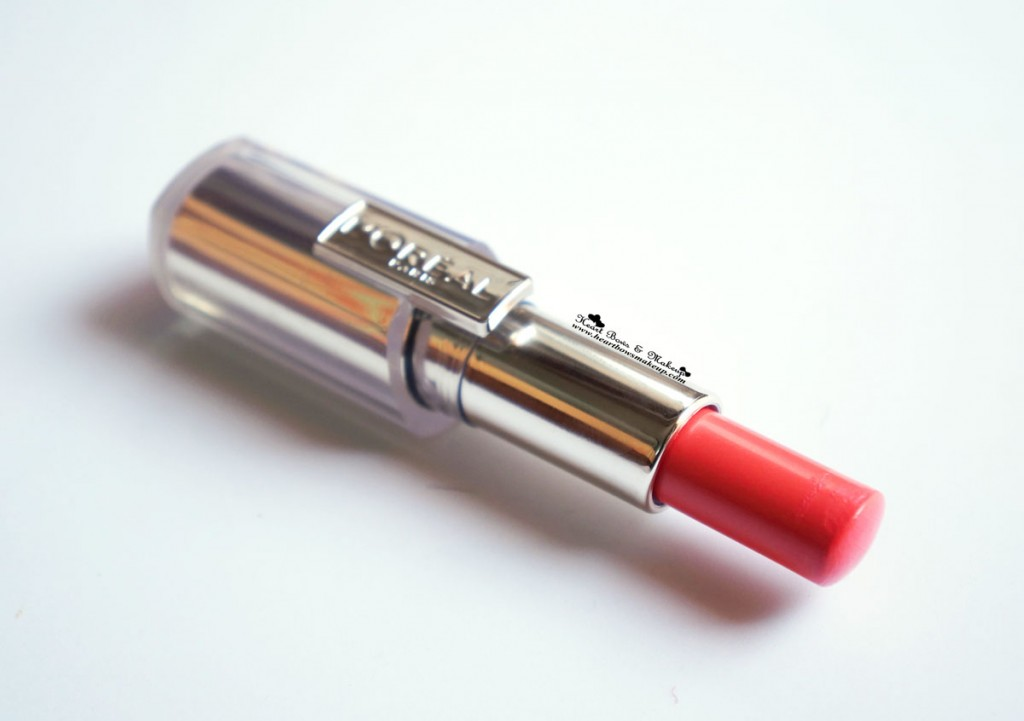 L Oreal Rouge Caresse Lipstick (Review and Swatches)