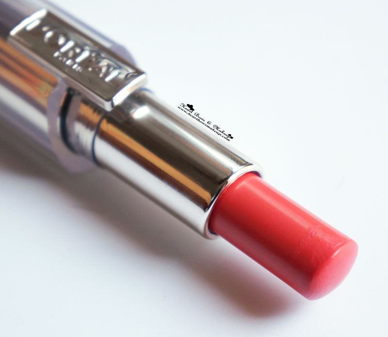 Loreal Rouge Caresse Lipstick Dating Coral Review India