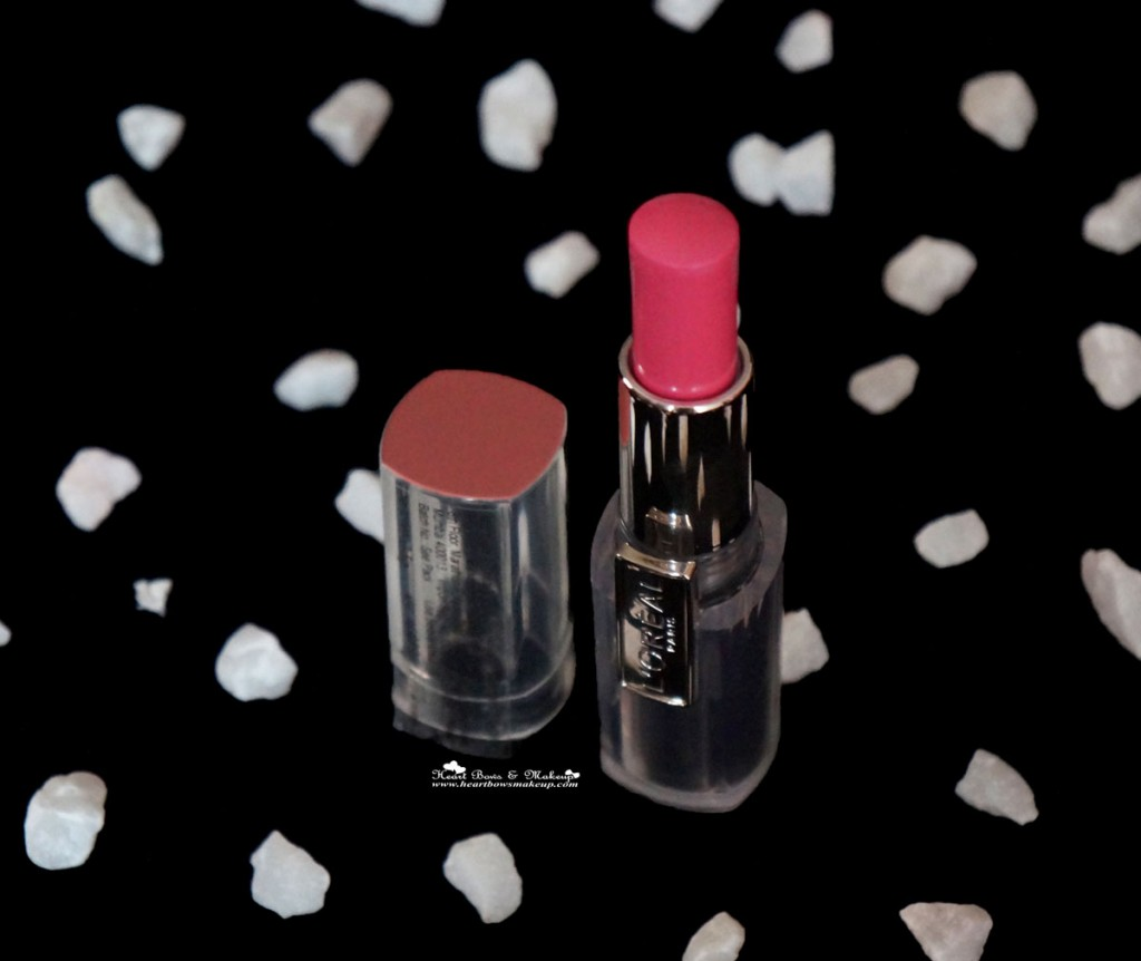 loreal rouge caresse rose mademoiselle lipstick review price india