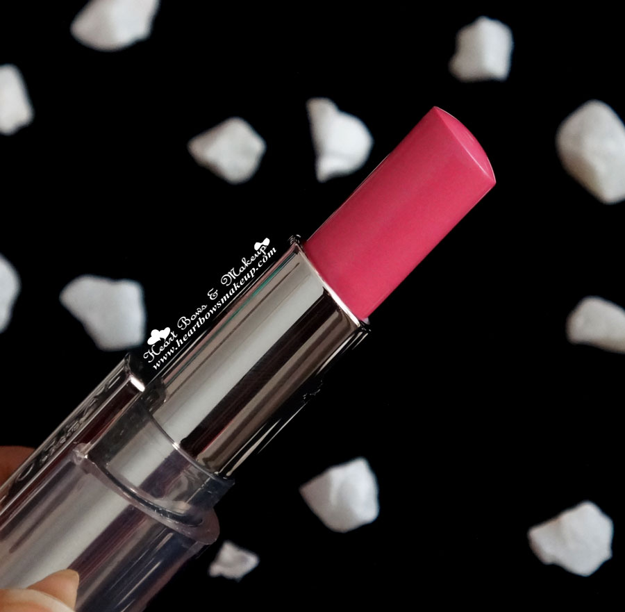 loreal rouge caresse rose mademoiselle lipstick review buy online in india
