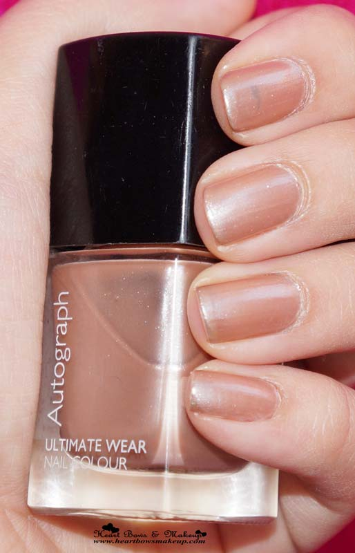 ... Ultimate Wear Nail Color Champagne Review - Heart Bows & Makeup