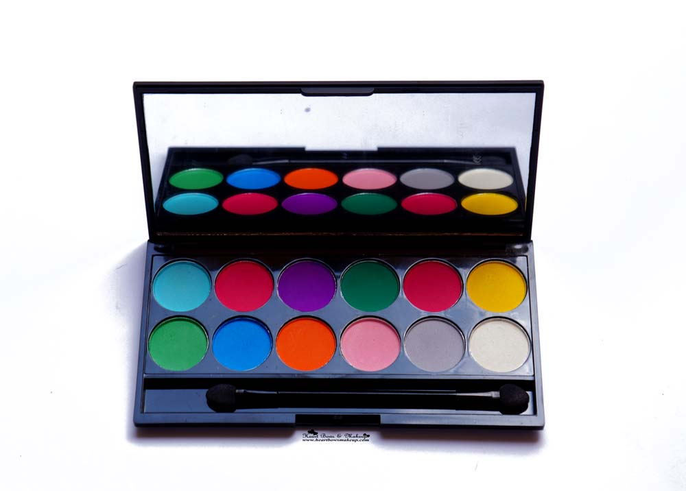 Sleek Ultra Mattes V1 Brights Eyeshadow Palette Review & Swatches