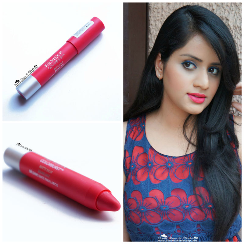 Revlon Colorburst Matte Balm Unapologetic Review Swatch Price India