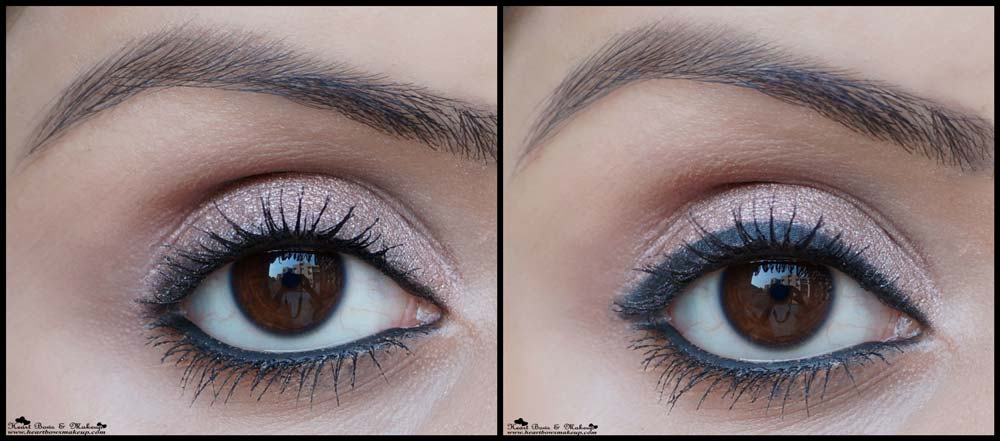 bobbi brown perfectly defined gel eyeliner in pitch black review swatches eyemakeup heart bows makeup