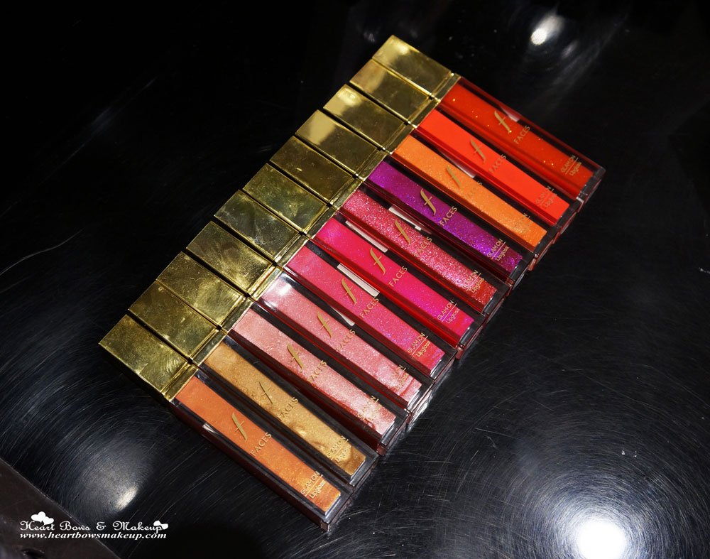 New Faces Canada Glam On Lipgloss Review, Swatches & Buy Online in India