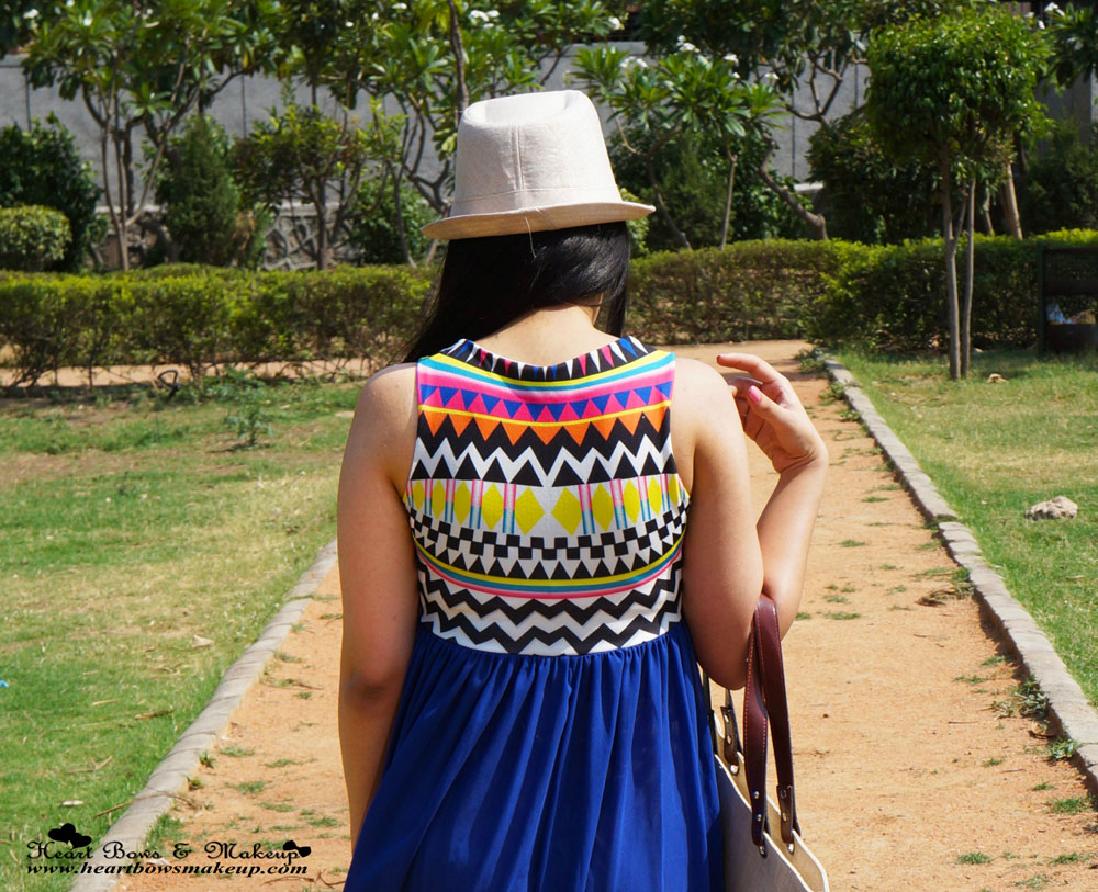 Indian Fashion Blogger: Aztec Print Maxi Dress & OOTD