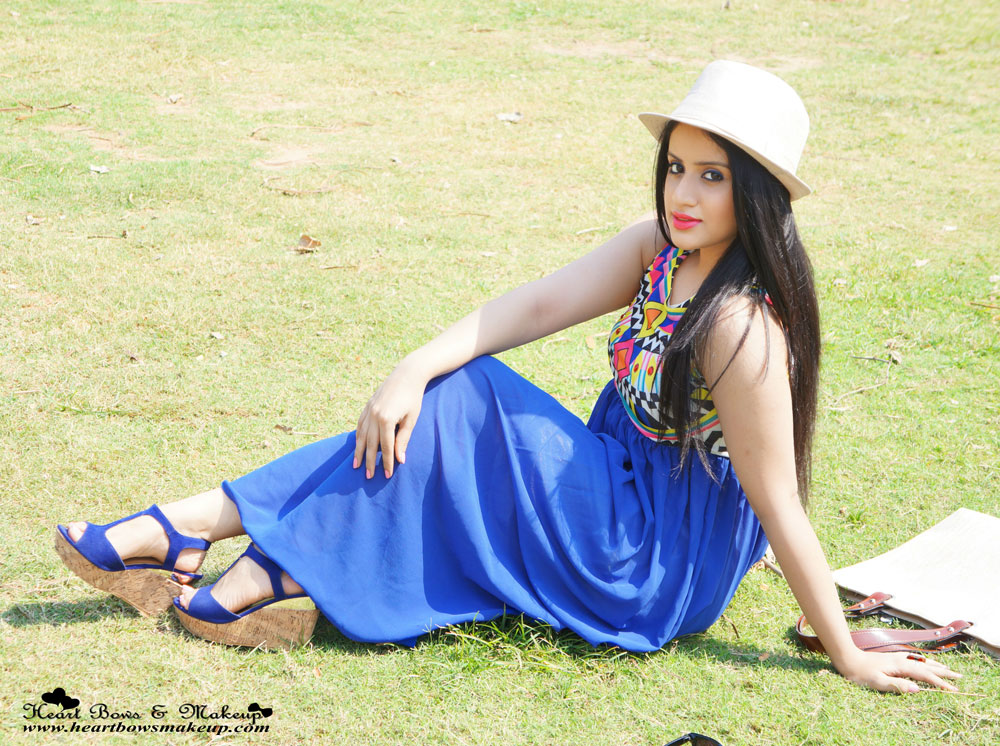 Indian Makeup & Beauty Blog:  Summery Maxi OOTD