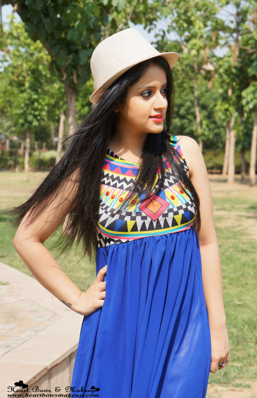 Indian Makeup Blog: Summer Maxi Dress by Sammydress