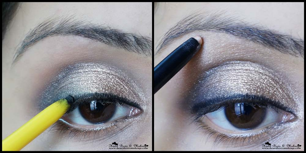 Indian Gold Eye Makeup Step By Step Tutorial