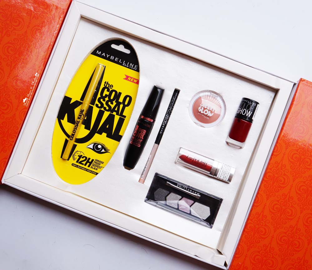 Maybelline InstaGlam Box Wedding Edition (Red) Review Products & Buy Online in India