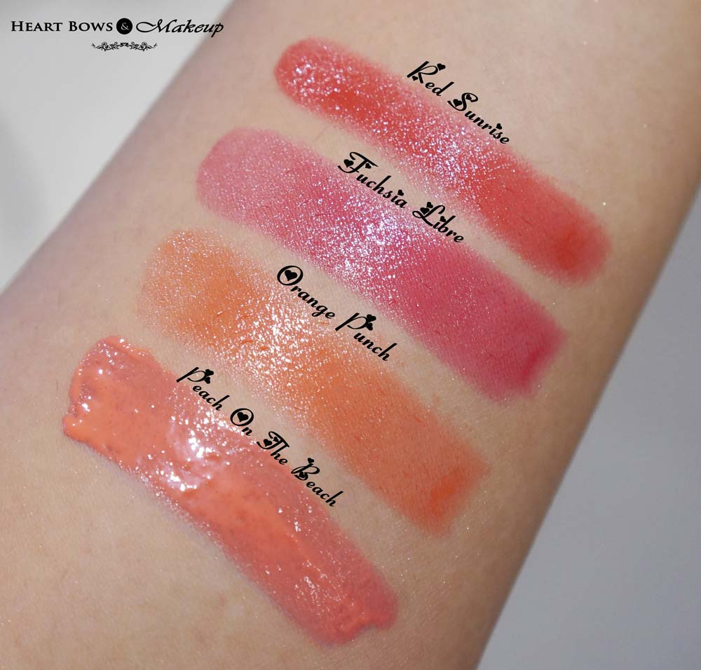 Bourjois Color Boost Lip Crayon Swatches & Price India - Heart Bows ...