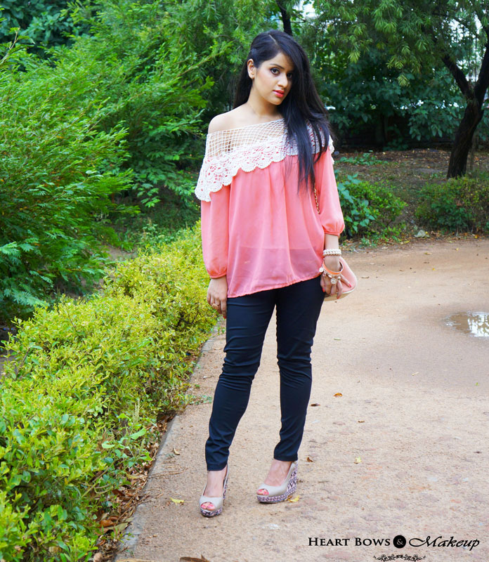 Indian Fashion Blog: A Pop Of Coral