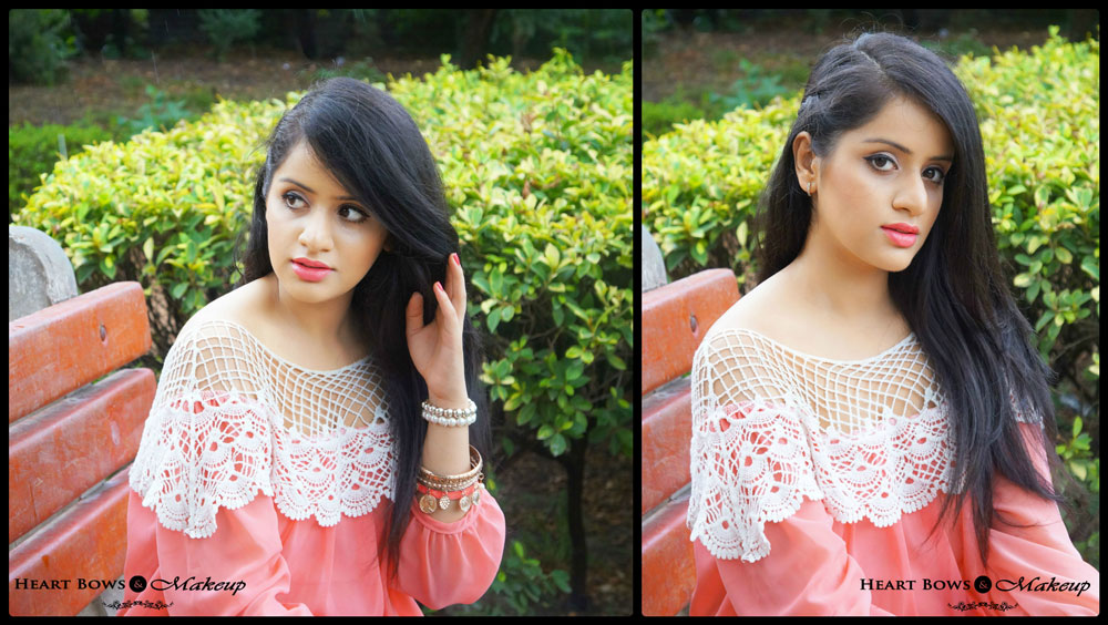 Indian Makeup & Beauty Blog: Bold Winged Eyes & Coral Lips