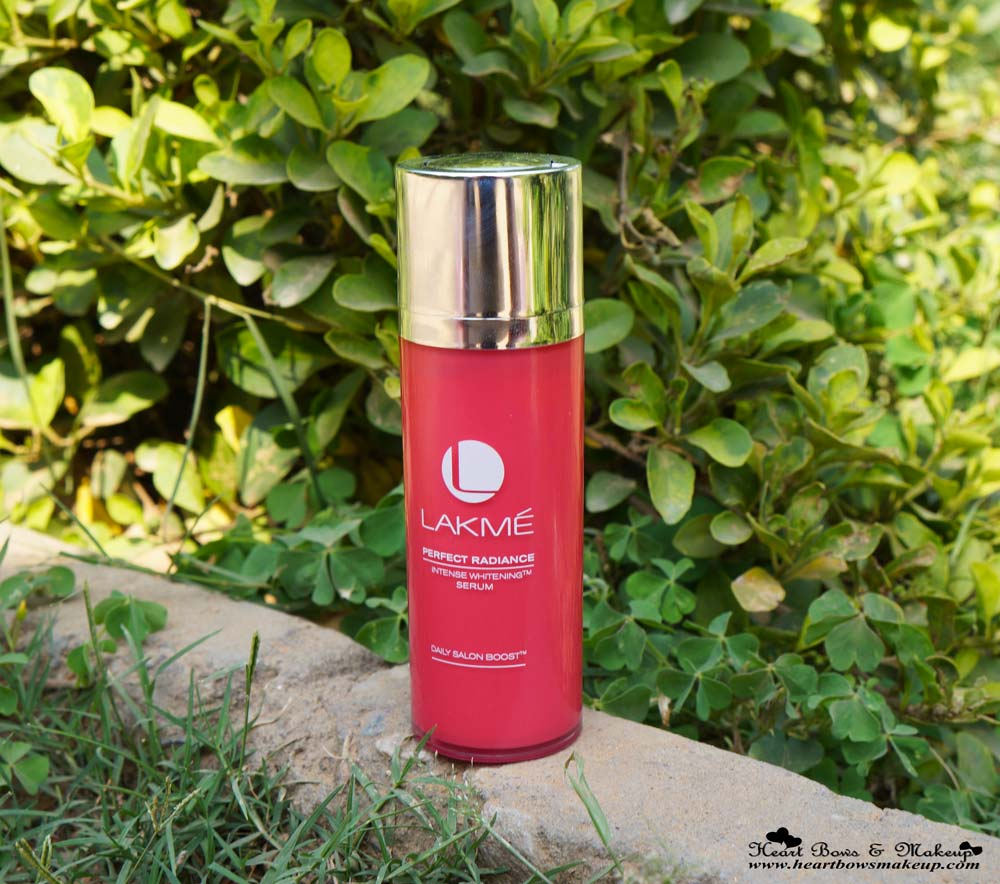 Lakme Perfect Radiance Intense Whitening Serum Review, Price & Buy Online in India