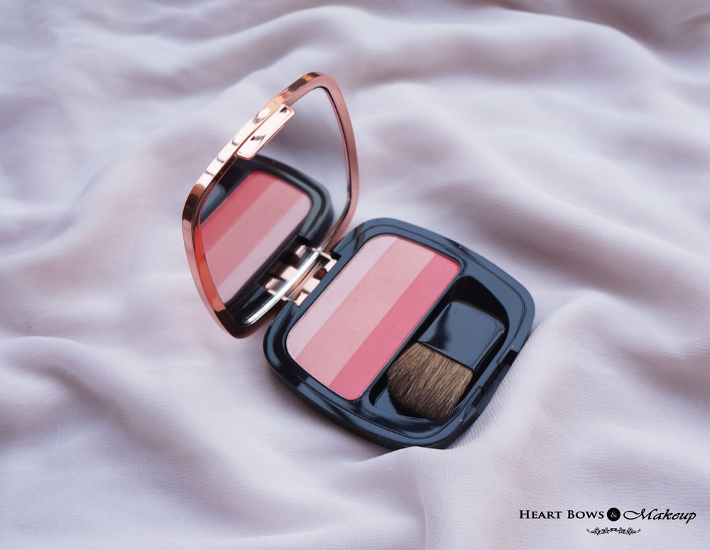 L'Oreal Magique Blush Palette Blushing Kiss Review, Swatches & Price India