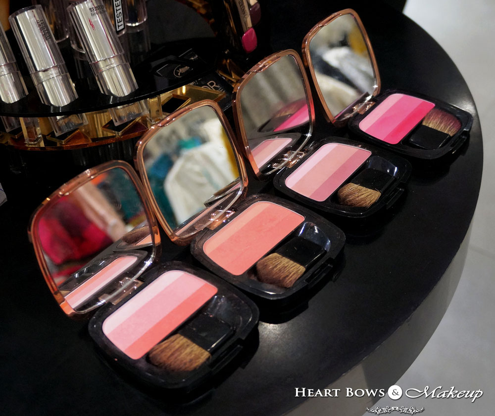 L'Oreal Lucent Magique Blush Palette Swatches, Review & Buy Online India