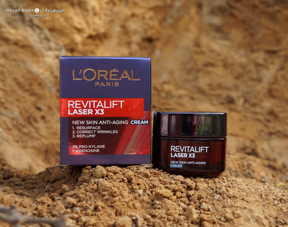 LOreal Revitalift Laser X3 Anti Aging Cream Review & Price India ...