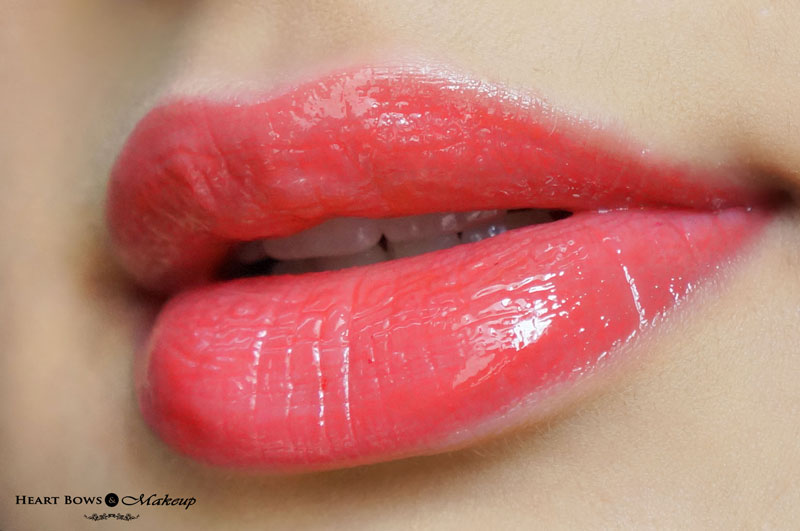 NYX Butter Gloss Peach Cobbler Lip Swatches, LOTD & Review
