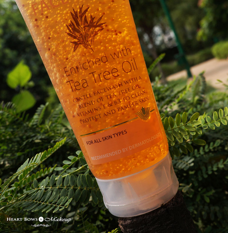Dr Batra's Tea Tree Oil Face Wash Review: Best Face Wash For Oily & Ace Prone Skin