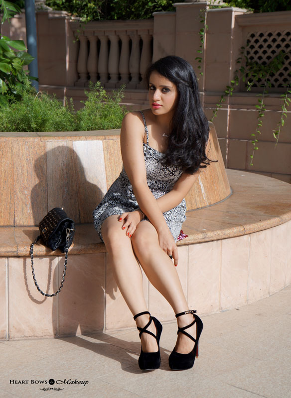 Indian Beauty Blog: Yin & Yang Outfit Of The Day!