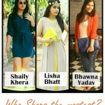 Who Shops The Mostest Contest at DLf Promenade!